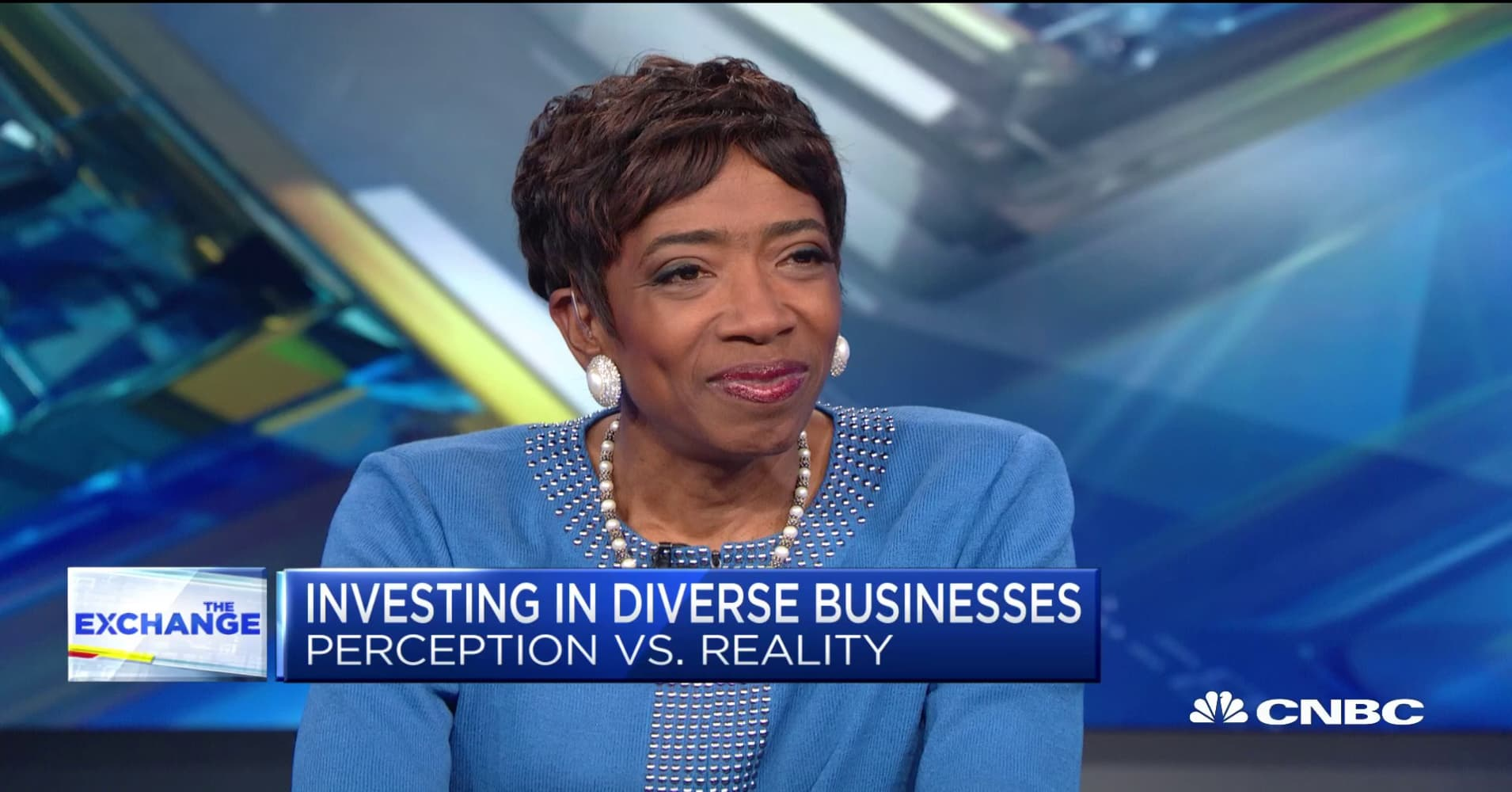 Morgan Stanley's Carla Harris on investing in diverse businesses