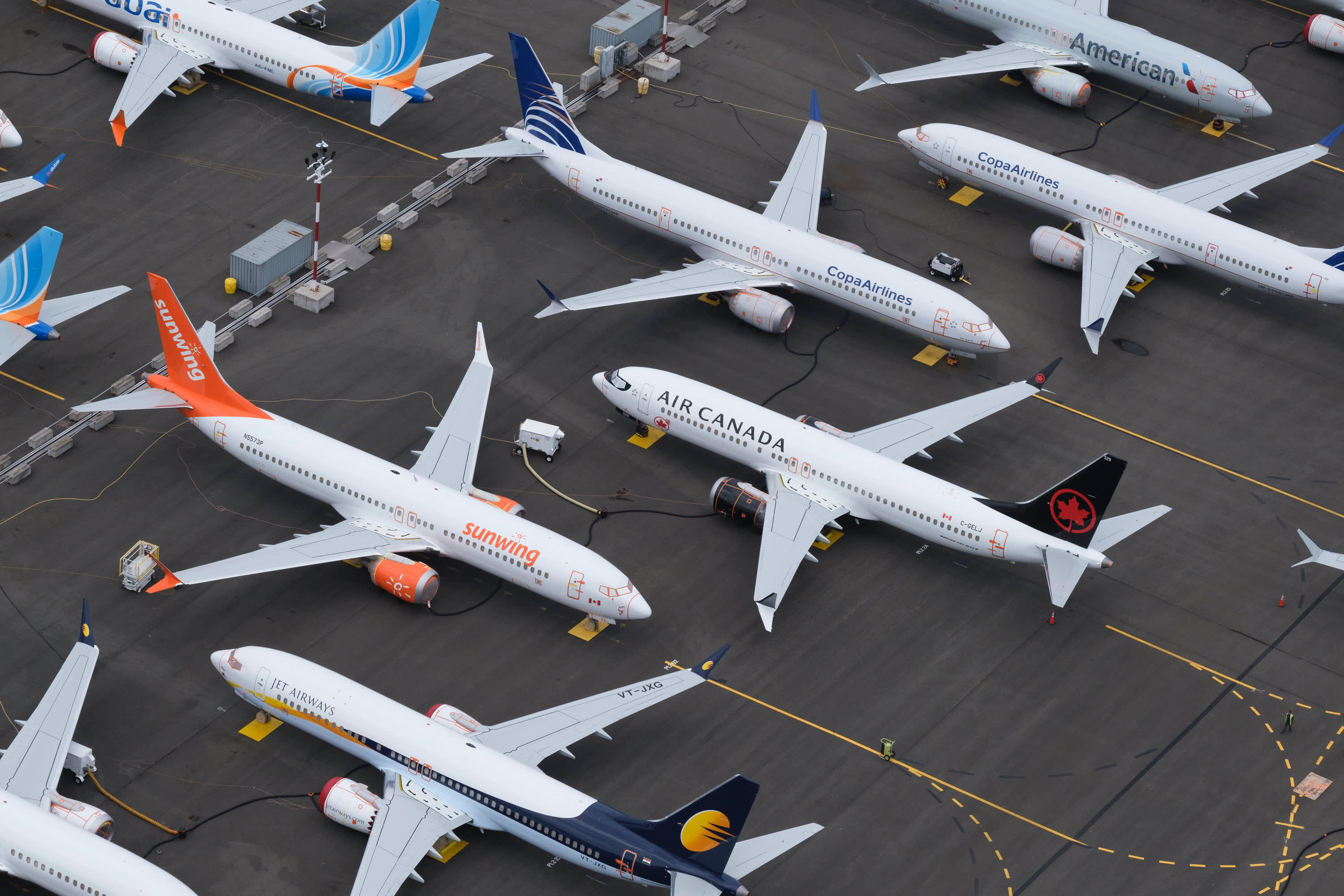 Boeing jetliner orders continue to fall as 737 Max grounding wears on