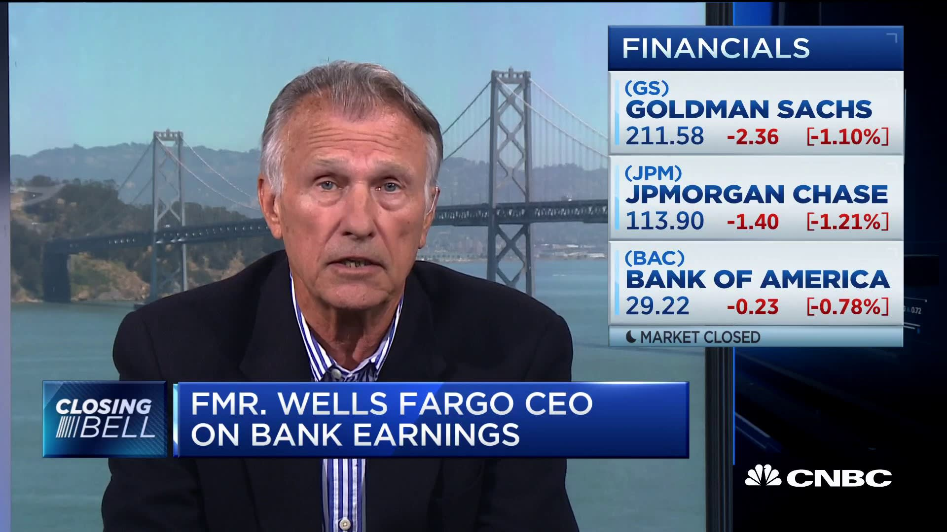 Former Wells Fargo CEO: 'This is the time' for bank acquisitions