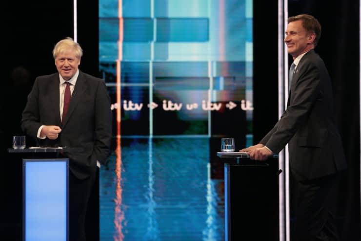 HO: Jeremy Hunt And Boris Johnson
