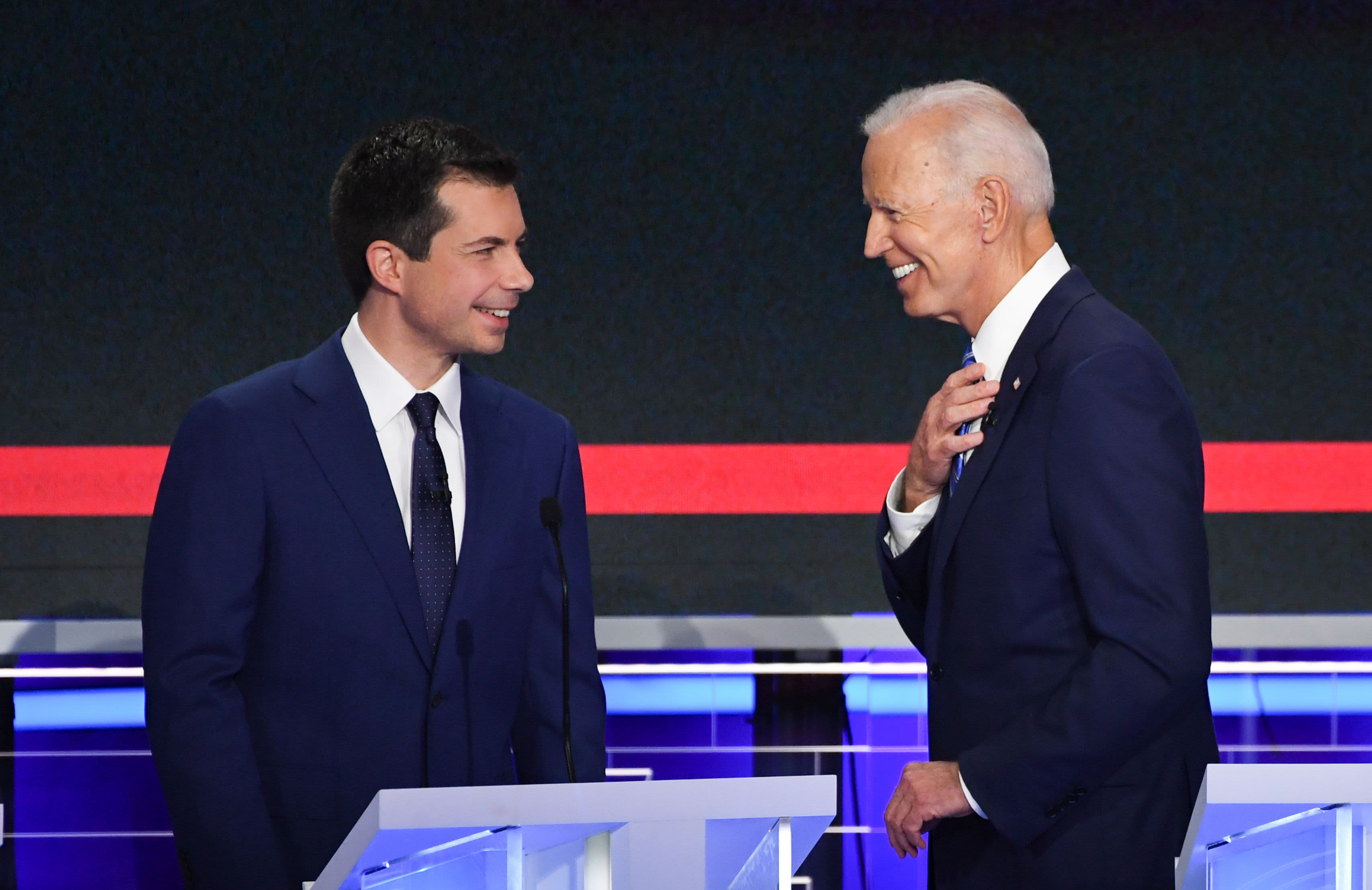 Buttigieg, Biden lead the 2020 Democratic money race — see how the rest of the field stacks up