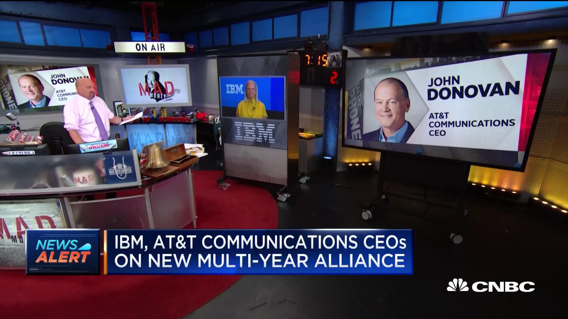 IBM snags AT&T in new cloud deal worth 'billions'
