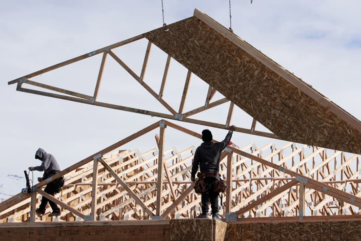 GP: Home builders Residential Construction As U.S. Housing Figures Are Released