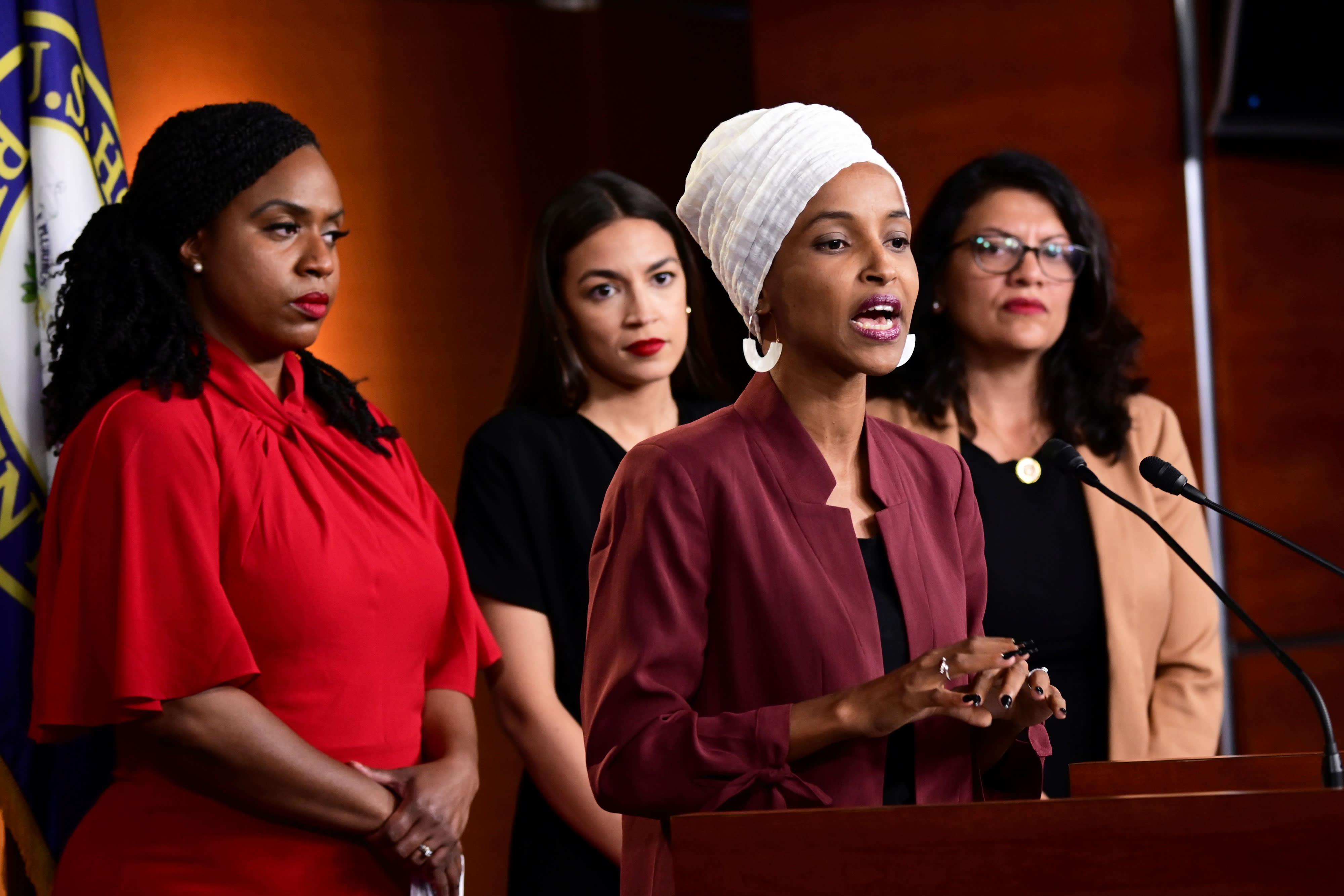 House Democrats vote to condemn Trump's attacks on congresswomen as racist