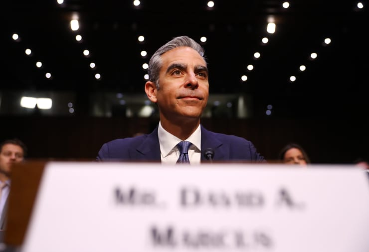 GP: David Marcus, head of blockchain with Facebook Inc. Senate Banking Committee Hearing On Facebook Inc. Cryptocurrency Libra