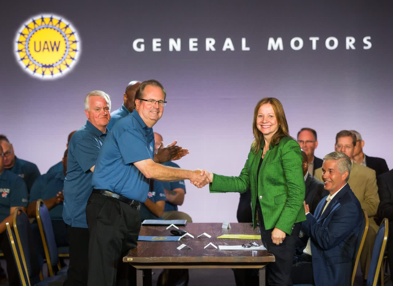 GM CEO to United Auto Workers: 'Our collective future is at stake'