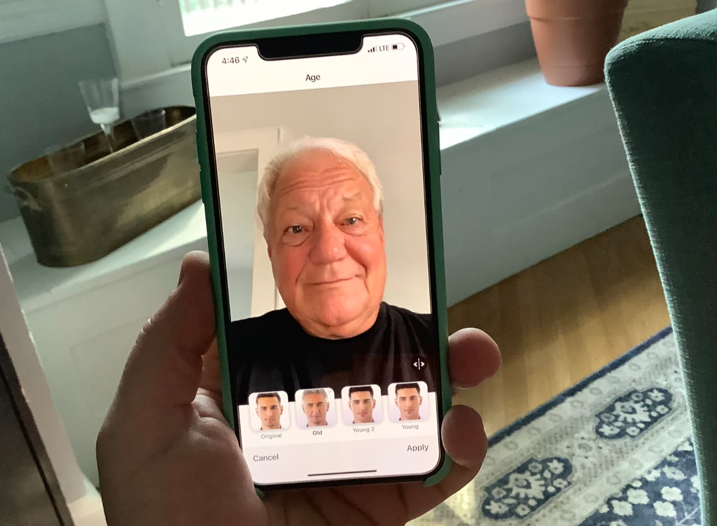 Everybody's suddenly posting pictures of what they'll look like when they're old — here's how