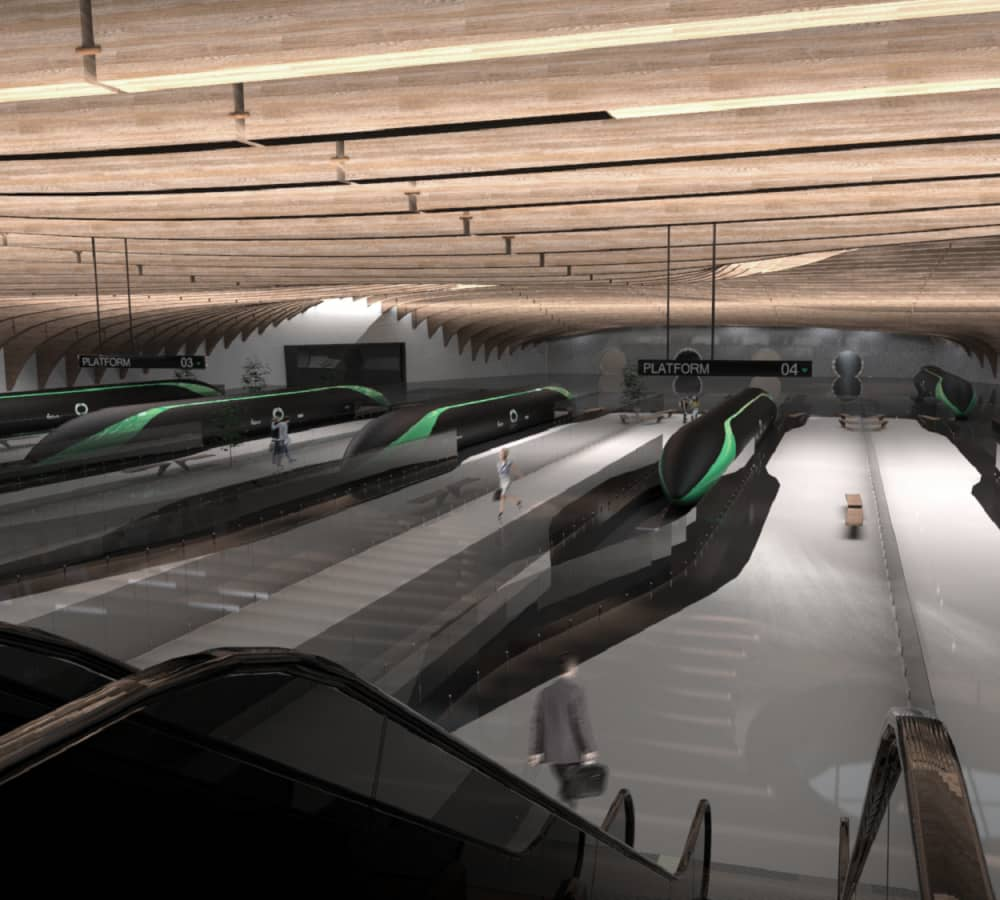 This is what traveling on Elon Musk's 700 mph Hyperloop could look like