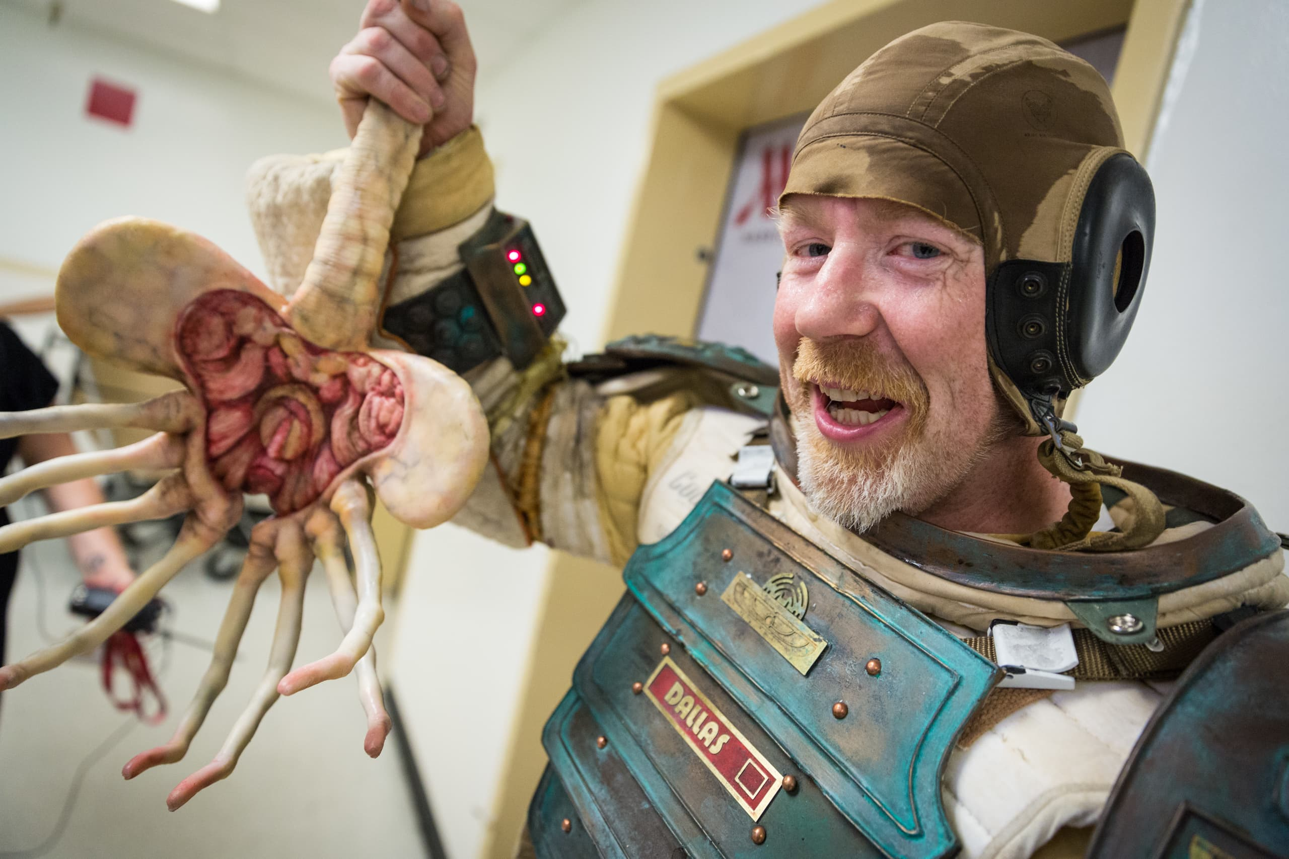Mythbusters' Adam Savage spent 14 years and over $15,000 building a single Comic-Con costume