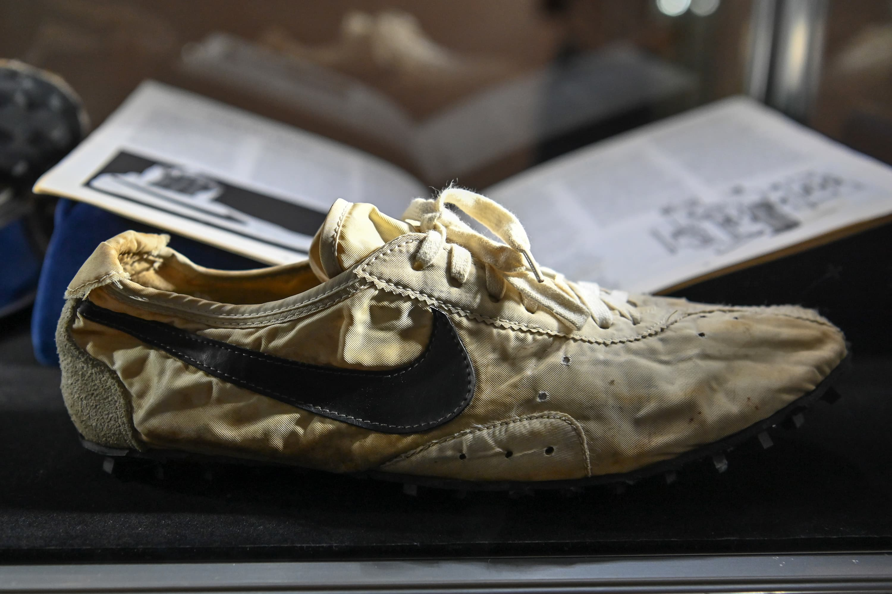 135a5087 Sotheby's sells sneaker collection for $850,000. Rare Nike 'Moon Shoe'  expected to fetch $160,000