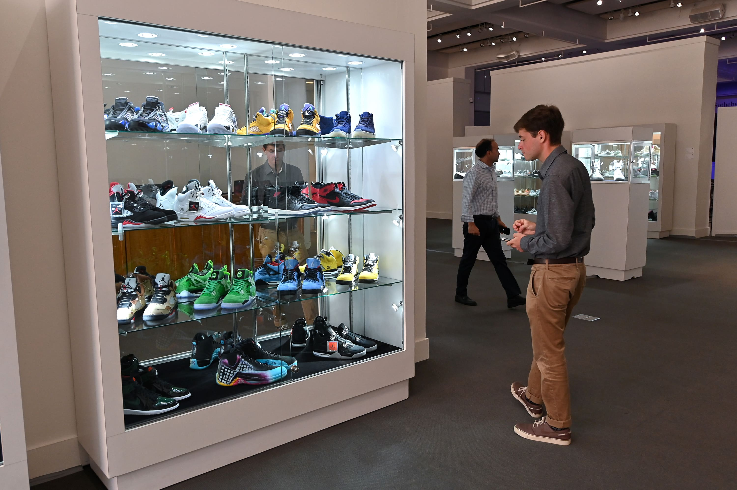 Sotheby's sells sneaker collection for