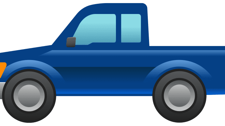 Ford's latest design isn't an F-150 or Ranger. It's the world's first pickup emoji