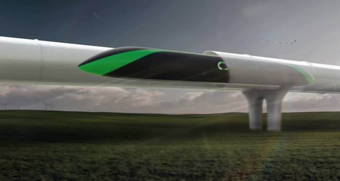 H/O: Delft University hyperloop pod tube 190717