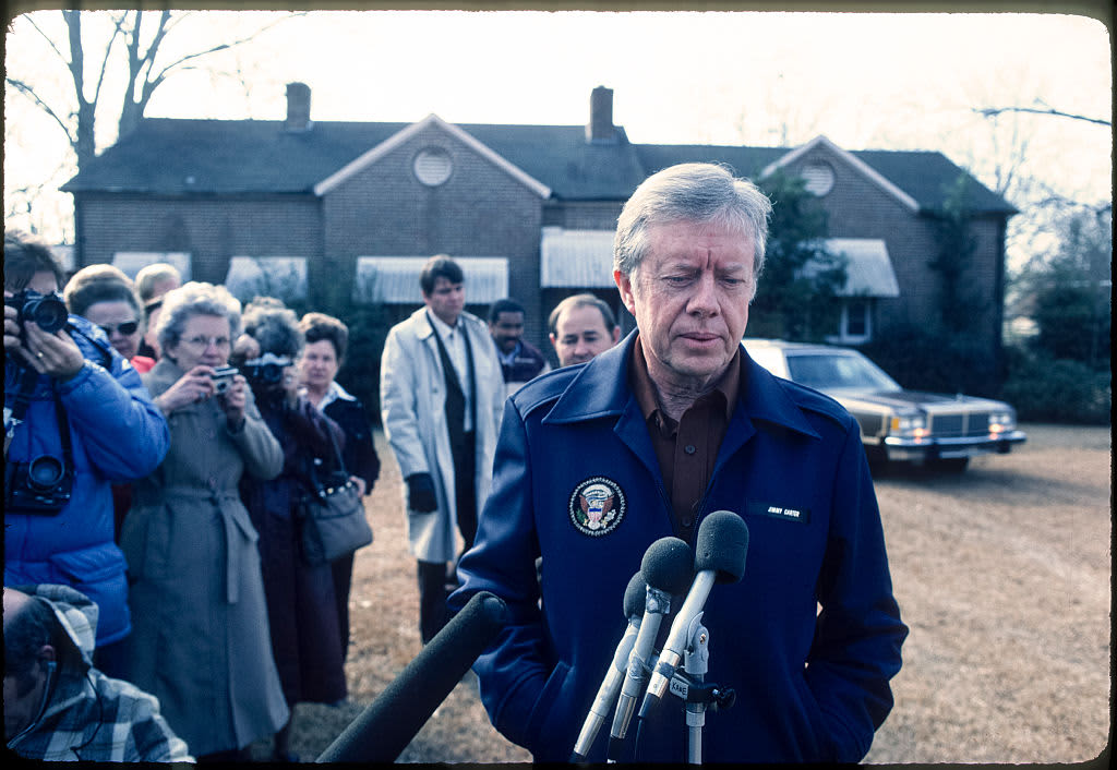 When former president Jimmy Carter left office, his peanut business was $1 million in debt