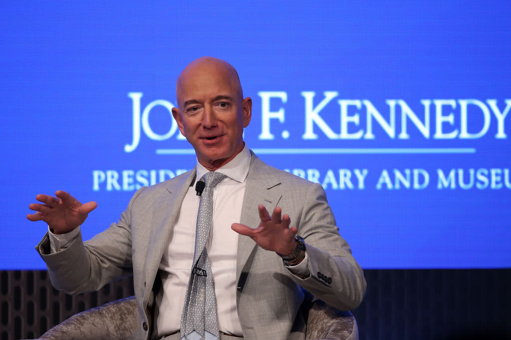 Jeff Bezos: I spend my billions on space because we're destroying Earth