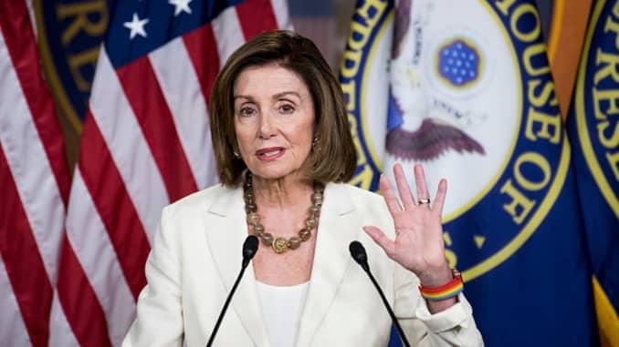 GP: Speaker of the House Nancy Pelosi...