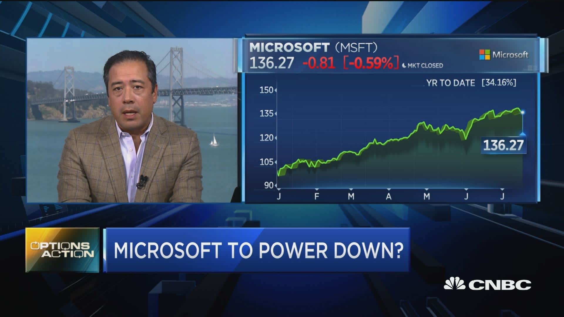 Trader hedges bet against Microsoft into earnings—here's how