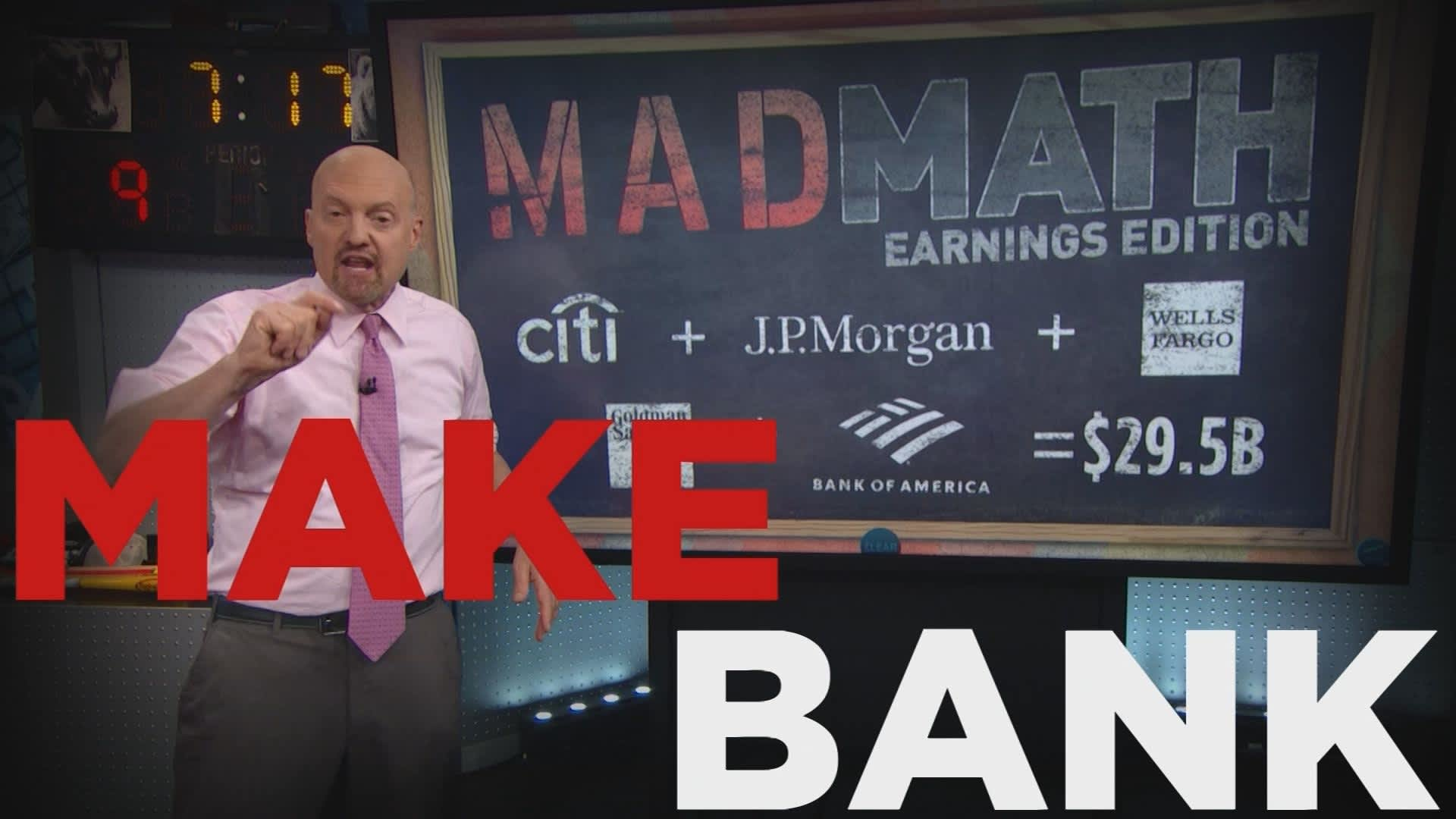 Cramer Remix: These big banks are buys even in this interest rate environment