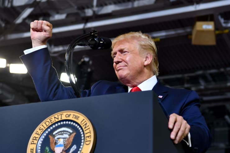 GP: Donald Trump NC Rally US-POLITICS-TRUMP 1