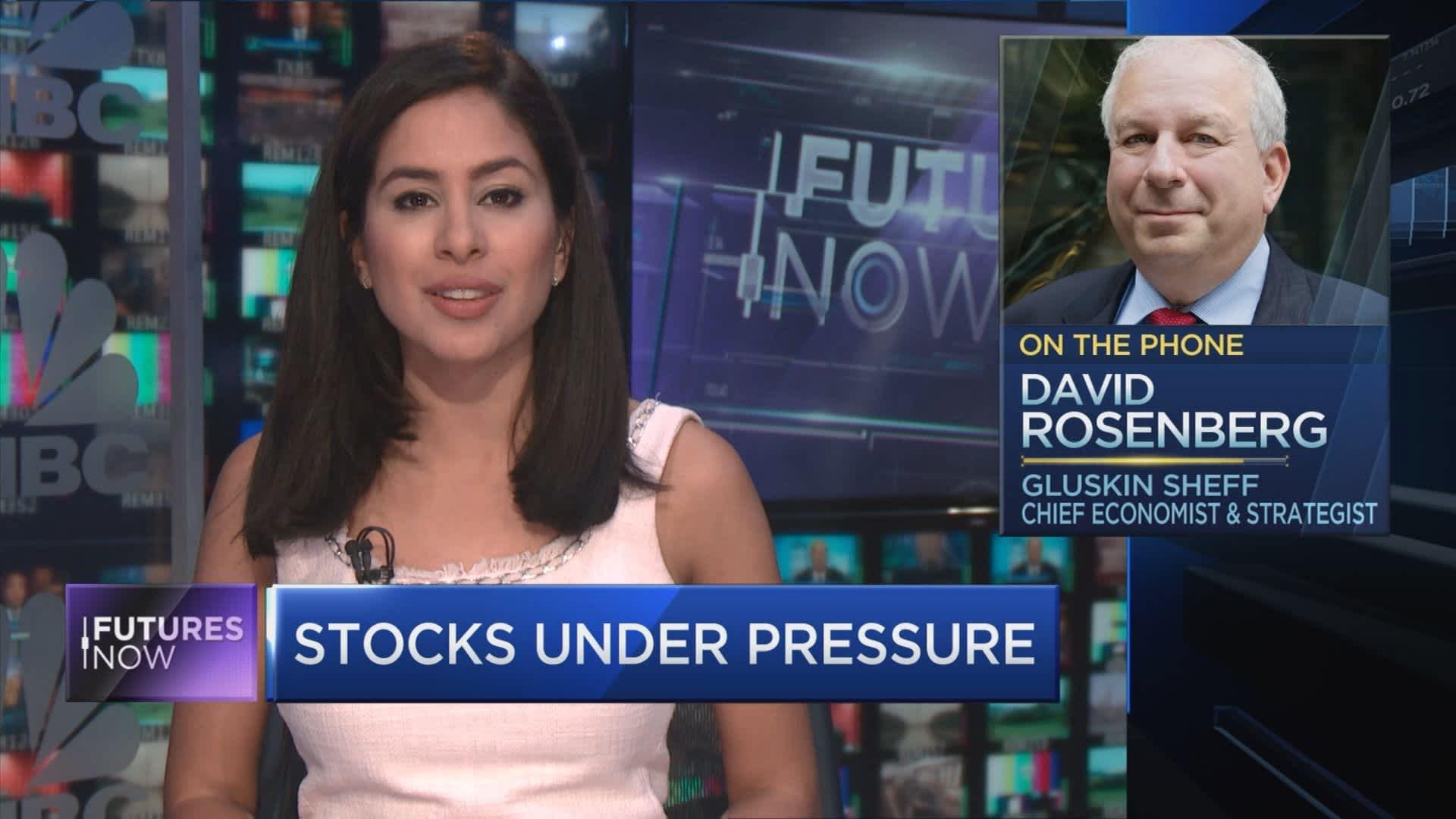 Recession threat is rising as earnings roll over, market bear David Rosenberg warns