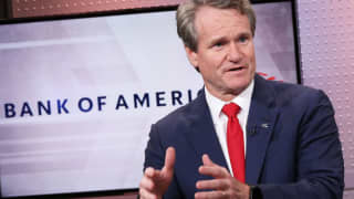 Bank of America CEO Moynihan says the consumer is doing well and will keep US economy going