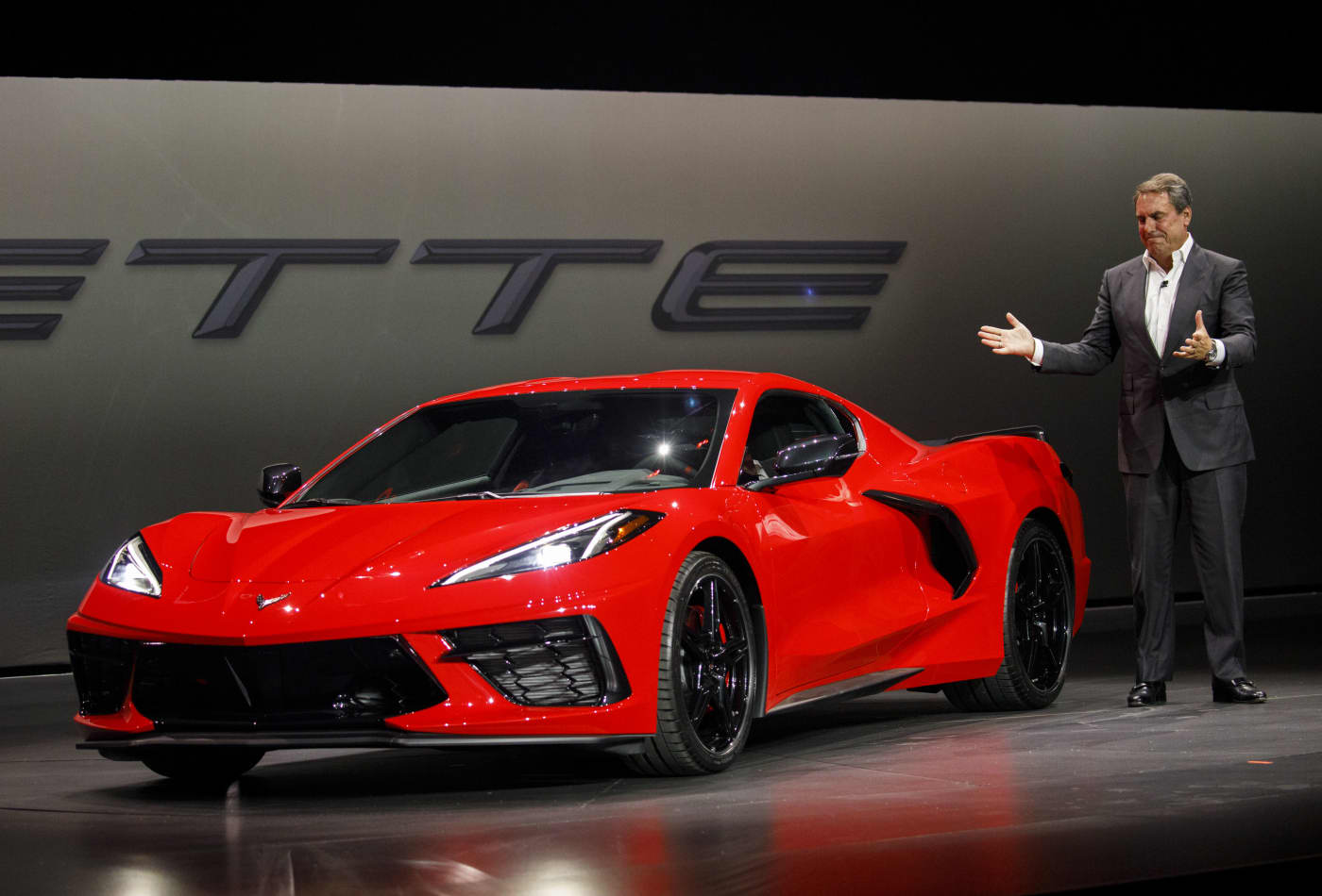 Chevy reveals new 2020 Corvette Stingray as it guns for Ferrari with first mid-engine design