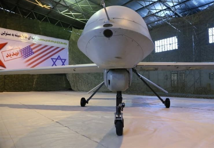 RT: An Iranian version of the American MQ-1 Predator drone is seen in Iran