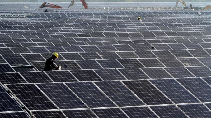 GP: 40MW Solar Power Plant Under Construction In Huaian
