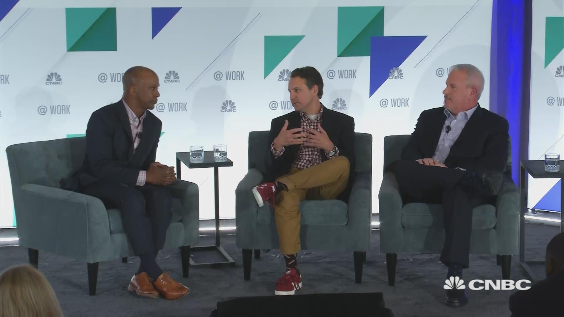 CFO 3 0: Adobe and Panera CFOs sit down with Jon Fortt and CNBC's @Work:  Human Capital + Finance Summit