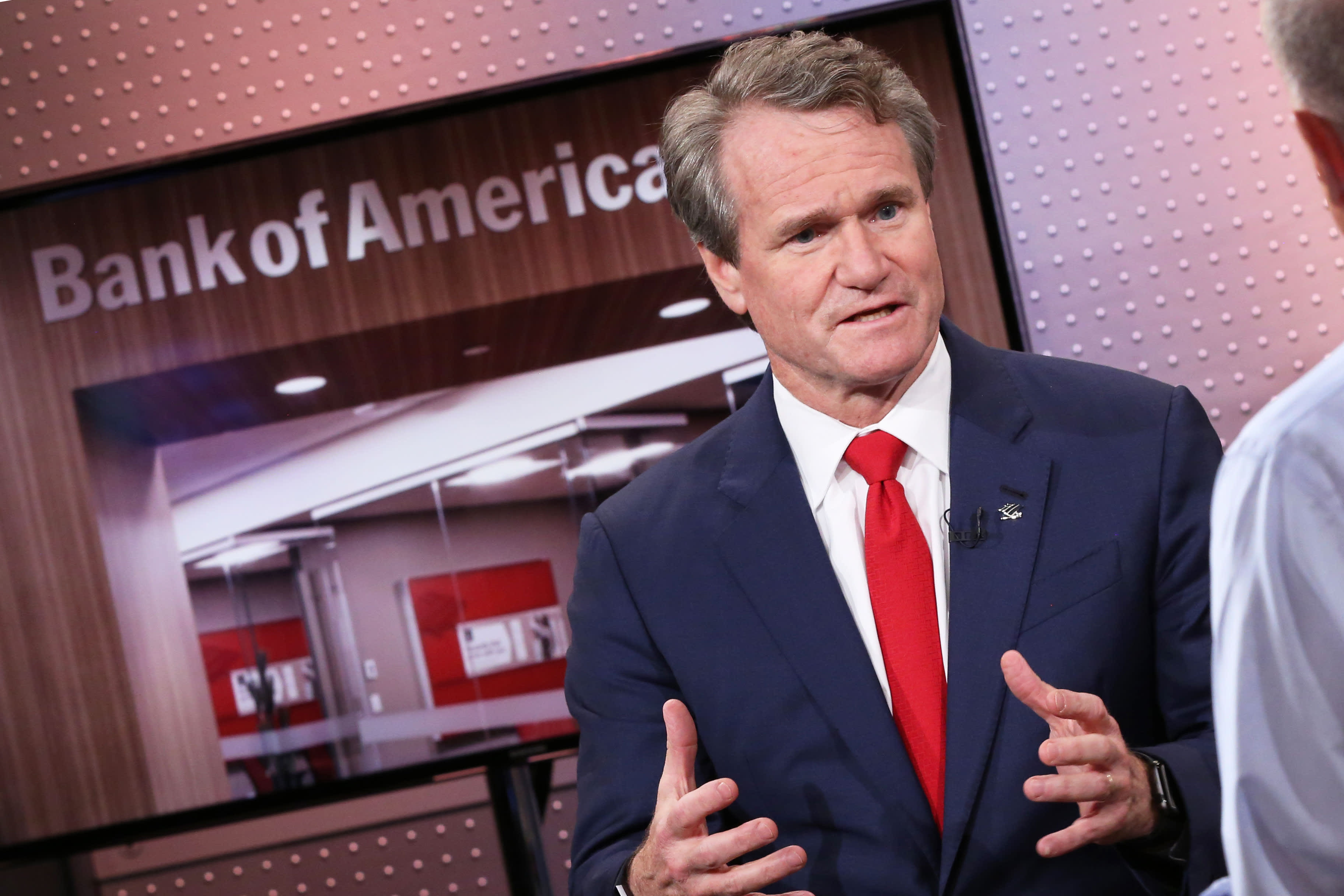 Bank of America CEO Brian Moynihan says confident consumers are spending 5.5% more this year