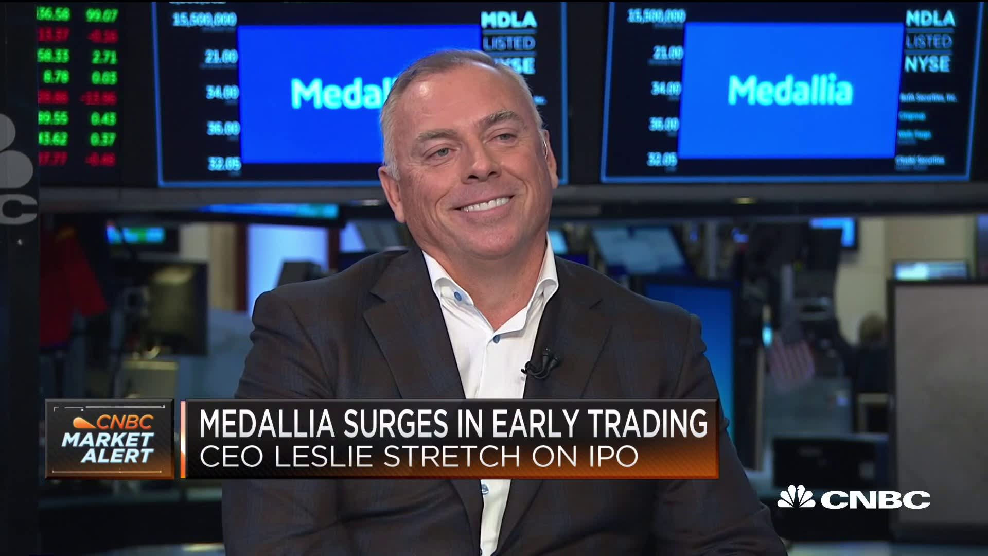 Medallia soars more than 70% in market debut as investors flock to another cloud software IPO