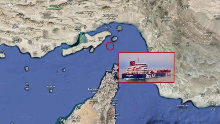 Iran says it captured British oil tanker; oil prices jump