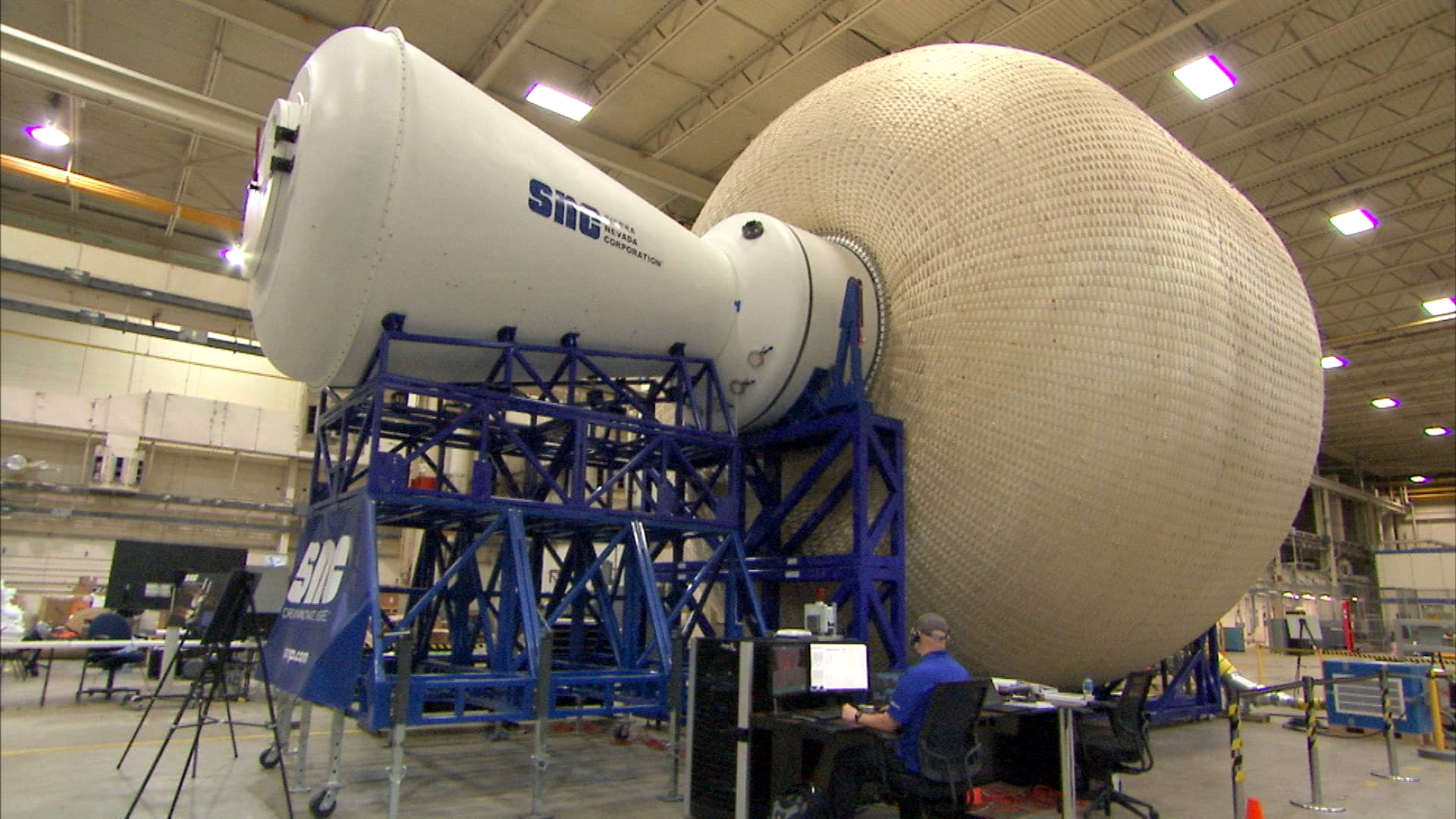 NASA is considering this inflatable space habitat for its return to the moon