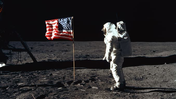 One small step for man, one giant leap for mankind': US celebrates 50th  anniversary of first moon landing