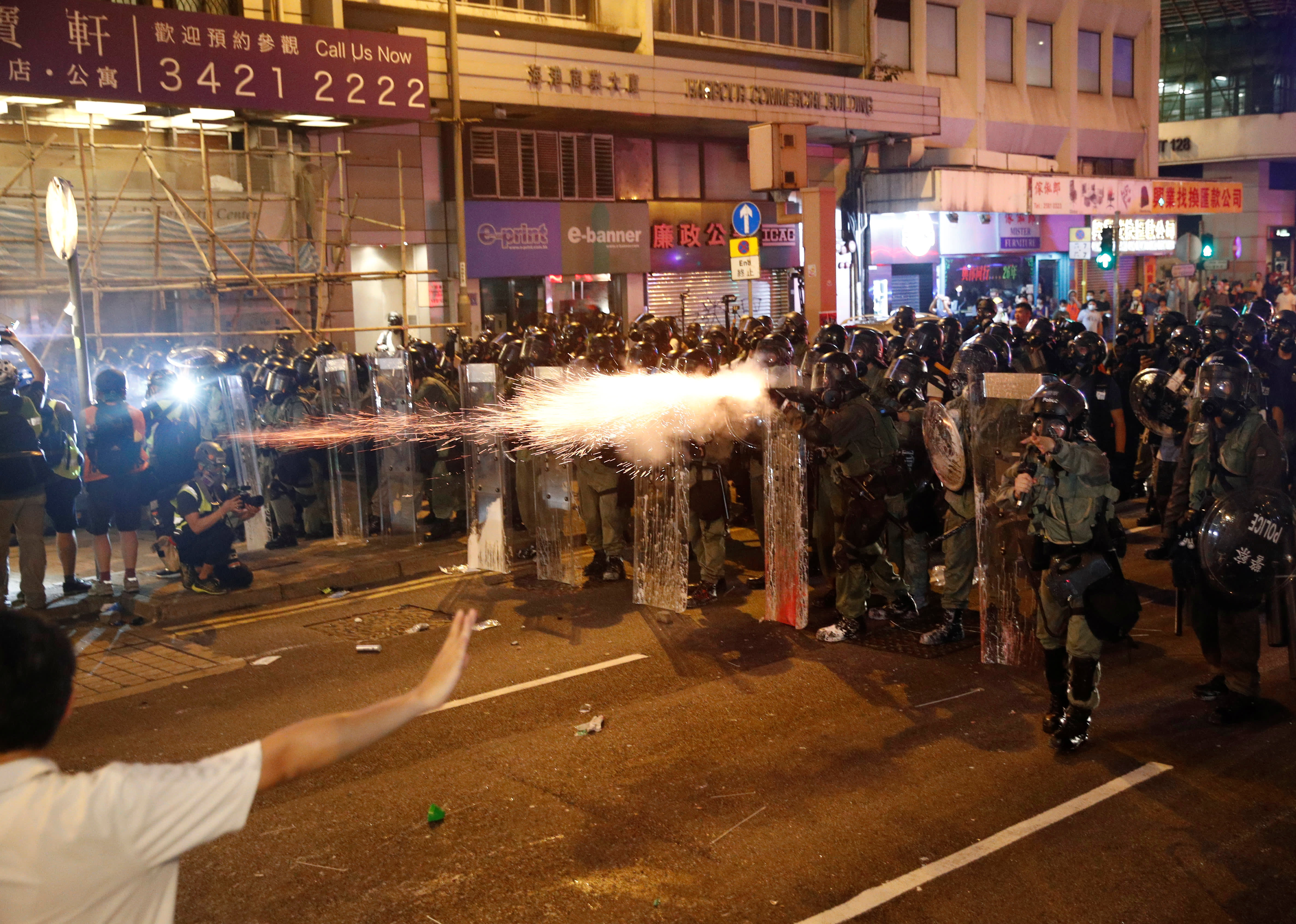 Violence is escalating in Hong Kong. Here are three possible outcomes