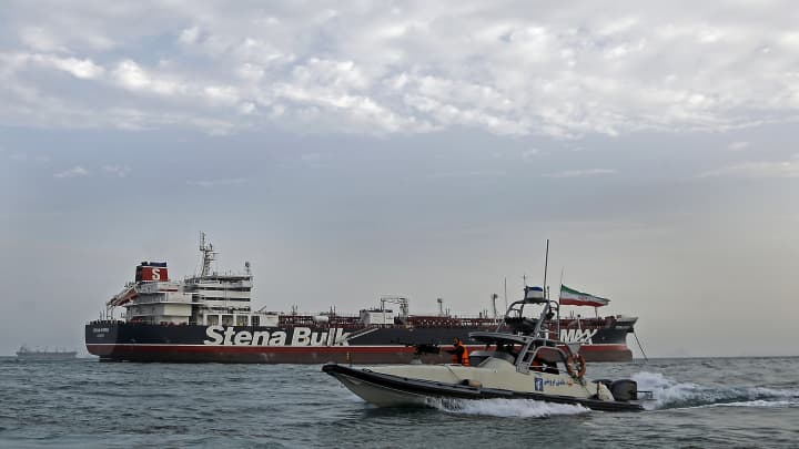 Iran tanker seizure shows oil price has become a 'broken barometer' for Mideast tension