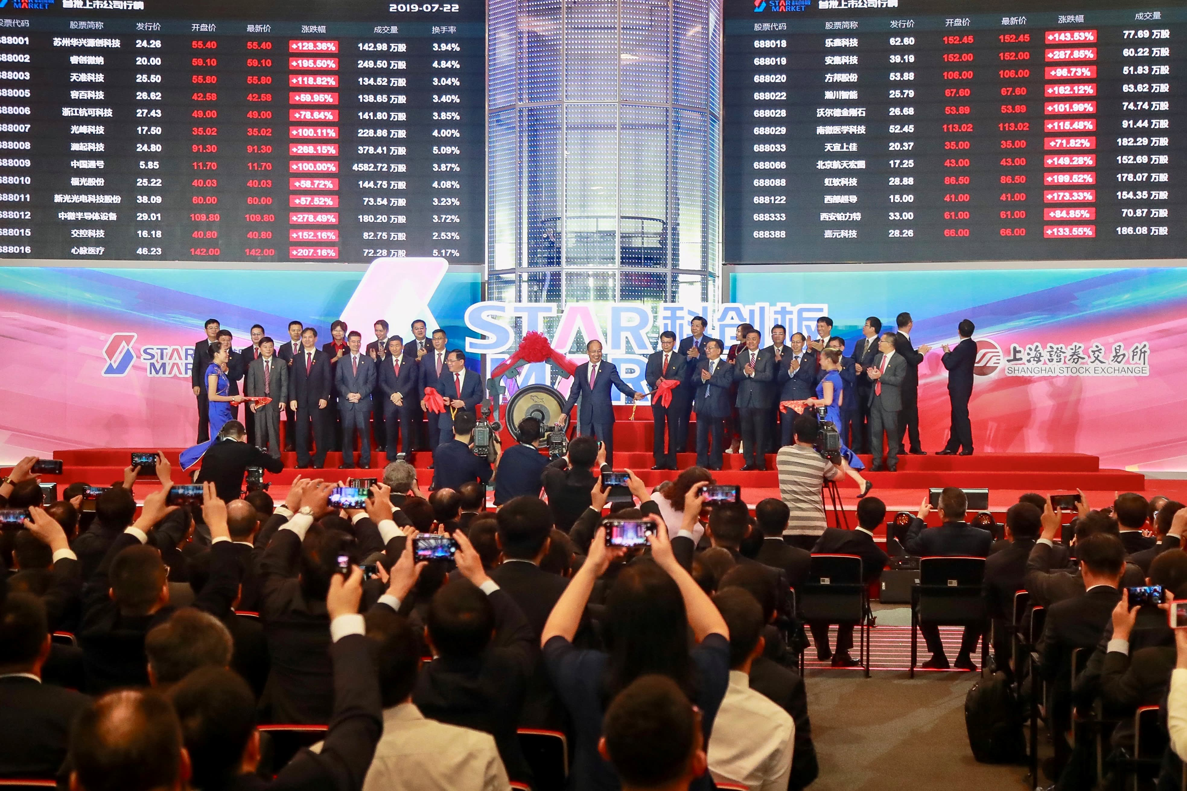 Analysts urge caution as stocks on Shanghai's new Nasdaq-style tech board surge thumbnail