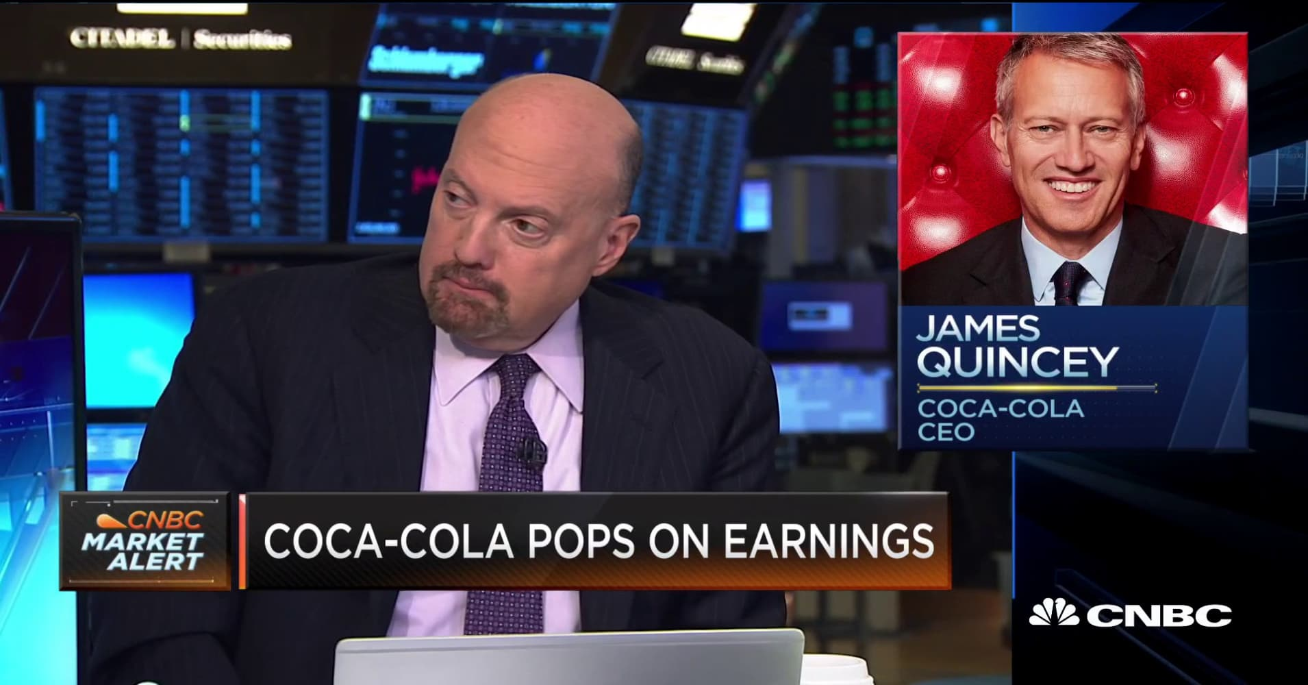 Cramer: Coca-Cola's stock should be higher