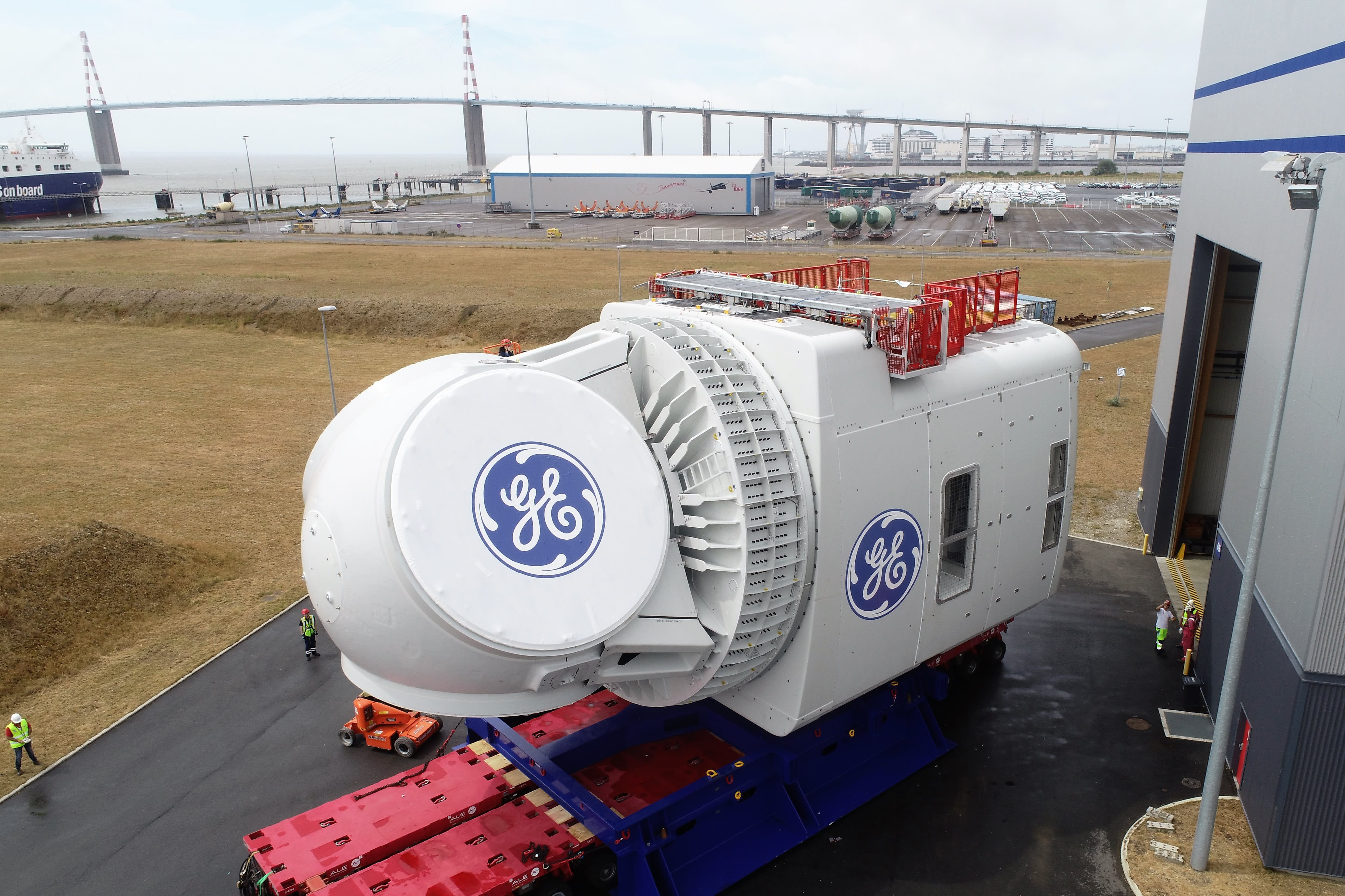 GE reveals new parts for the 'world's largest offshore wind turbine'