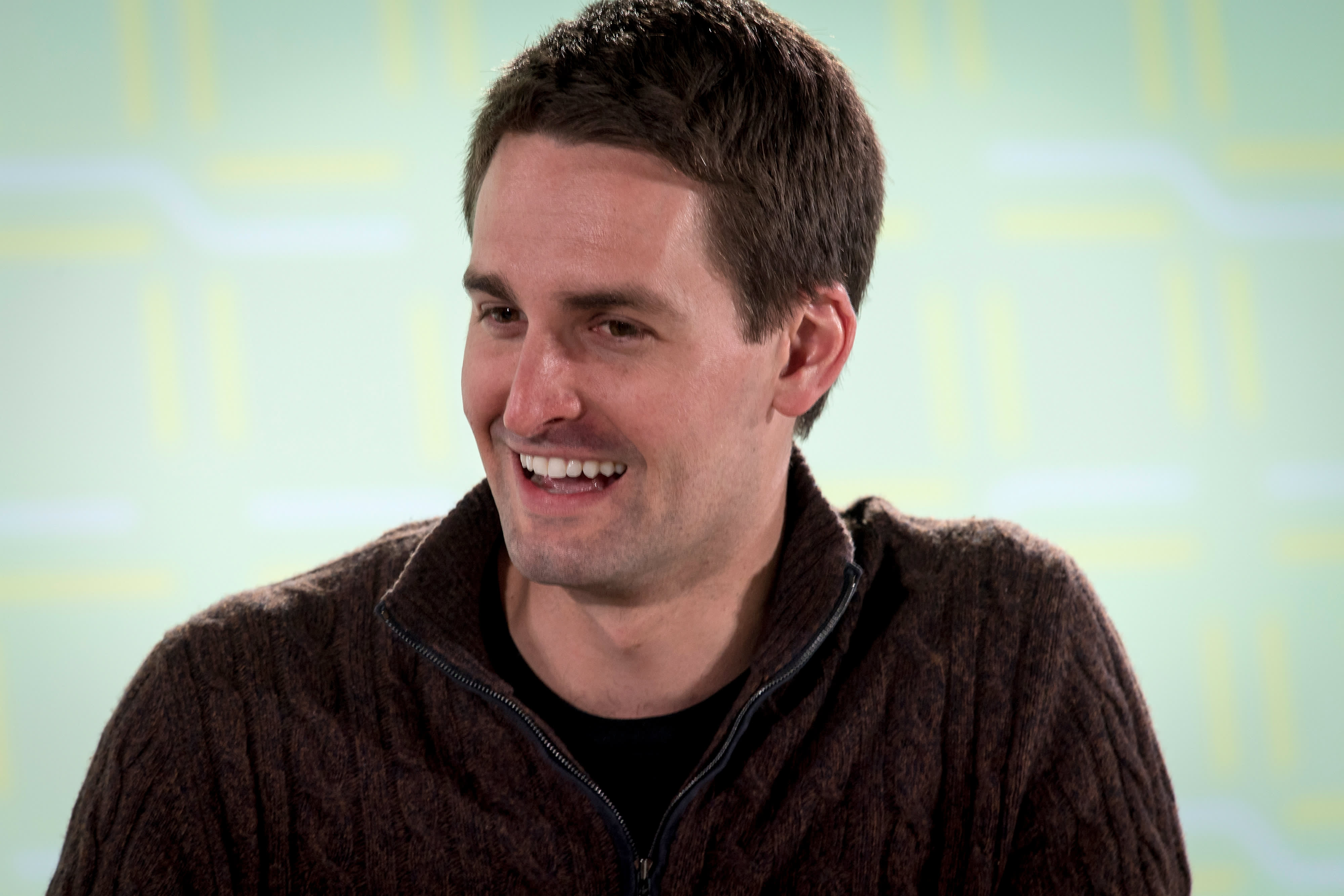 Snapchat fact-checks political ads, unlike Facebook, says CEO Evan Speigel