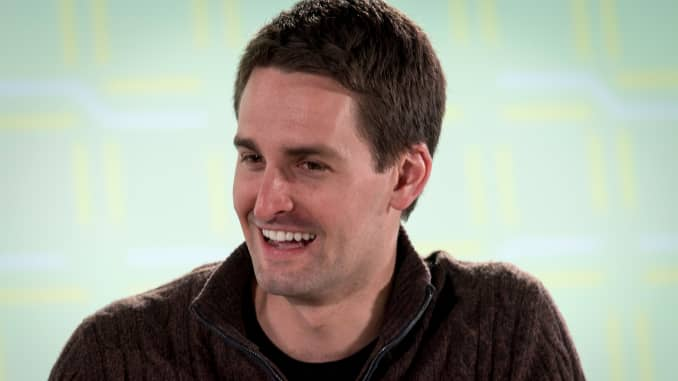 GP:Evan Spiegel, co-founder and chief executive officer of Snap Inc.