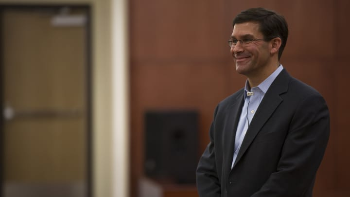 Senate confirms Mark Esper to lead Pentagon