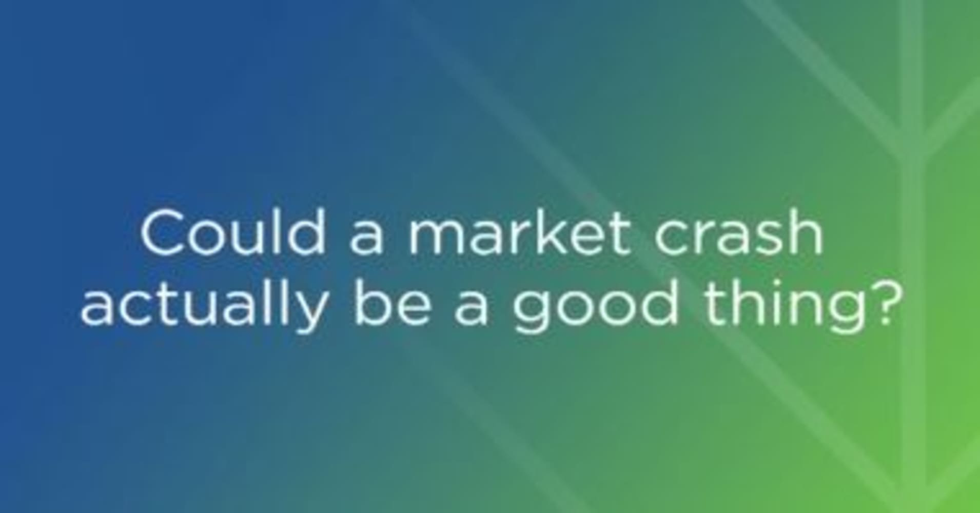 Image result for could our electronic markets come crashing down in 2020