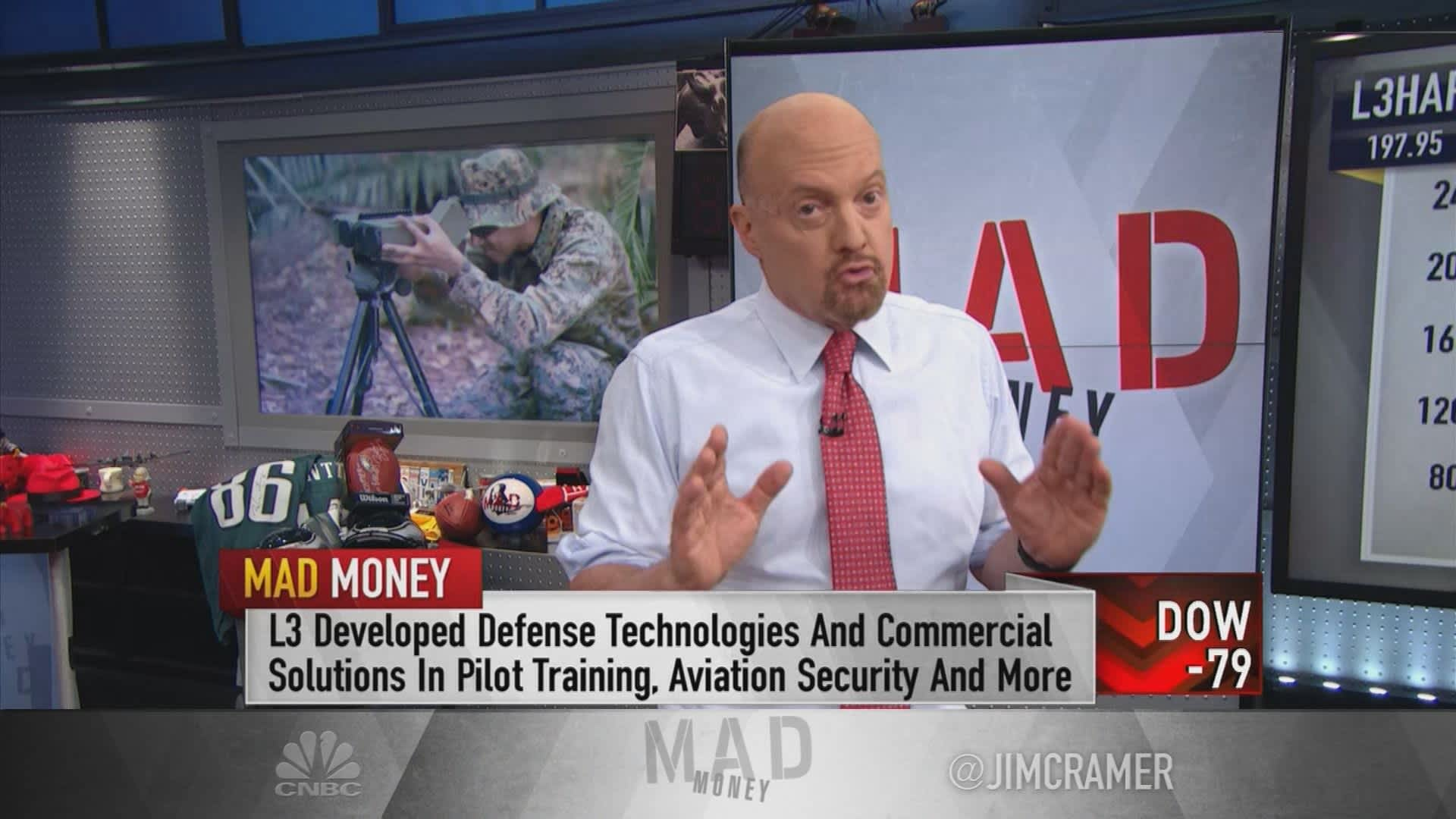 L3Harris the best defense play to own, says Jim Cramer