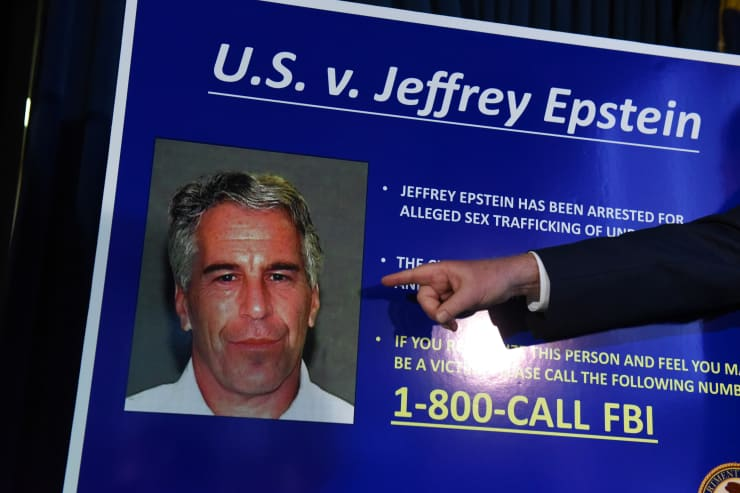 GP 190725 Jeffrey Epstein Appears In Manhattan Federal Court On Sex Trafficking Charges