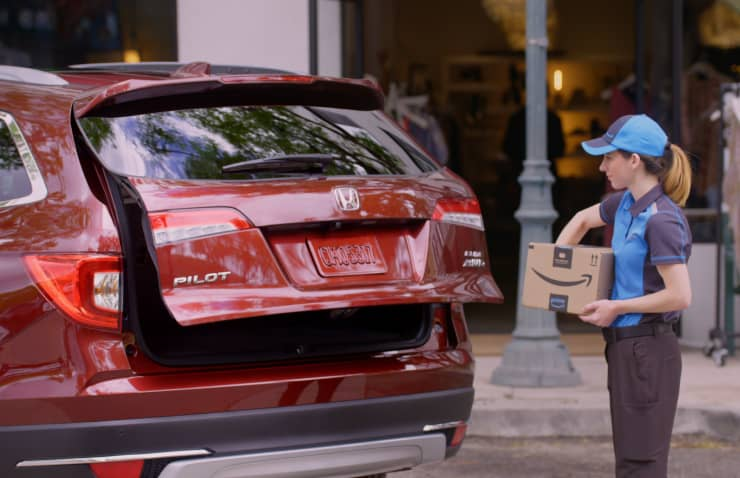 H/O - Honda trunk delivery