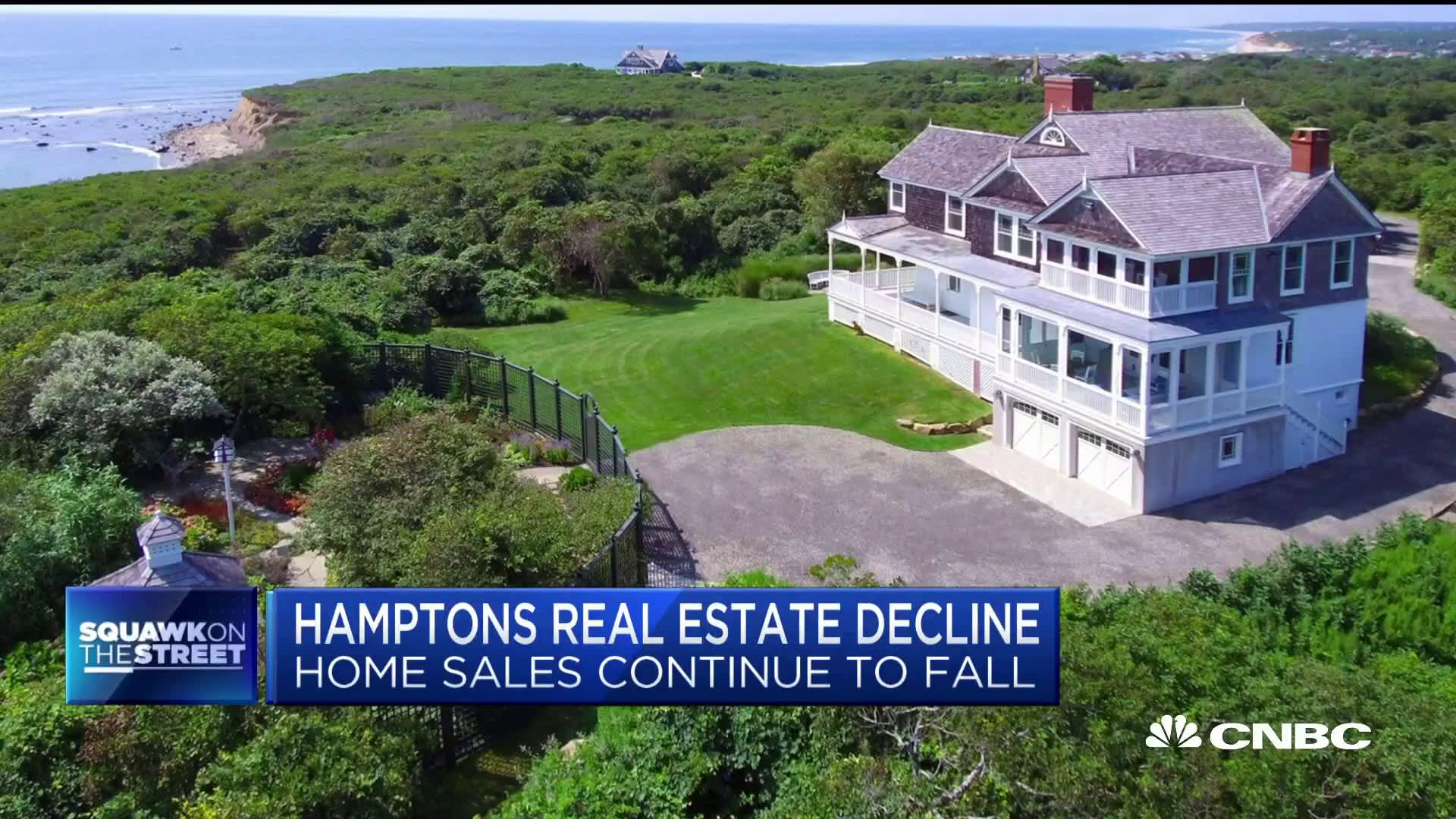 Real estate in the Hamptons just had its worst spring in eight years