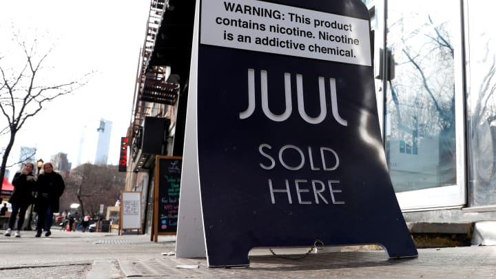 Best Nic Salt Device 2020.Cdc Warns Of Dangers Of Nicotine Salts Used By Vaping Giant