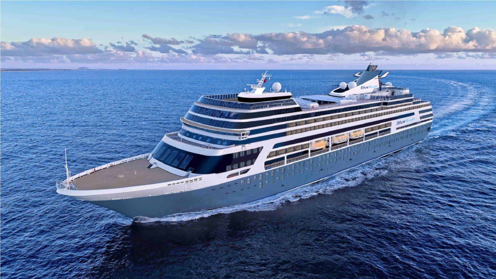 Blue World Voyages Selling Luxury Residences On Cruise Ship
