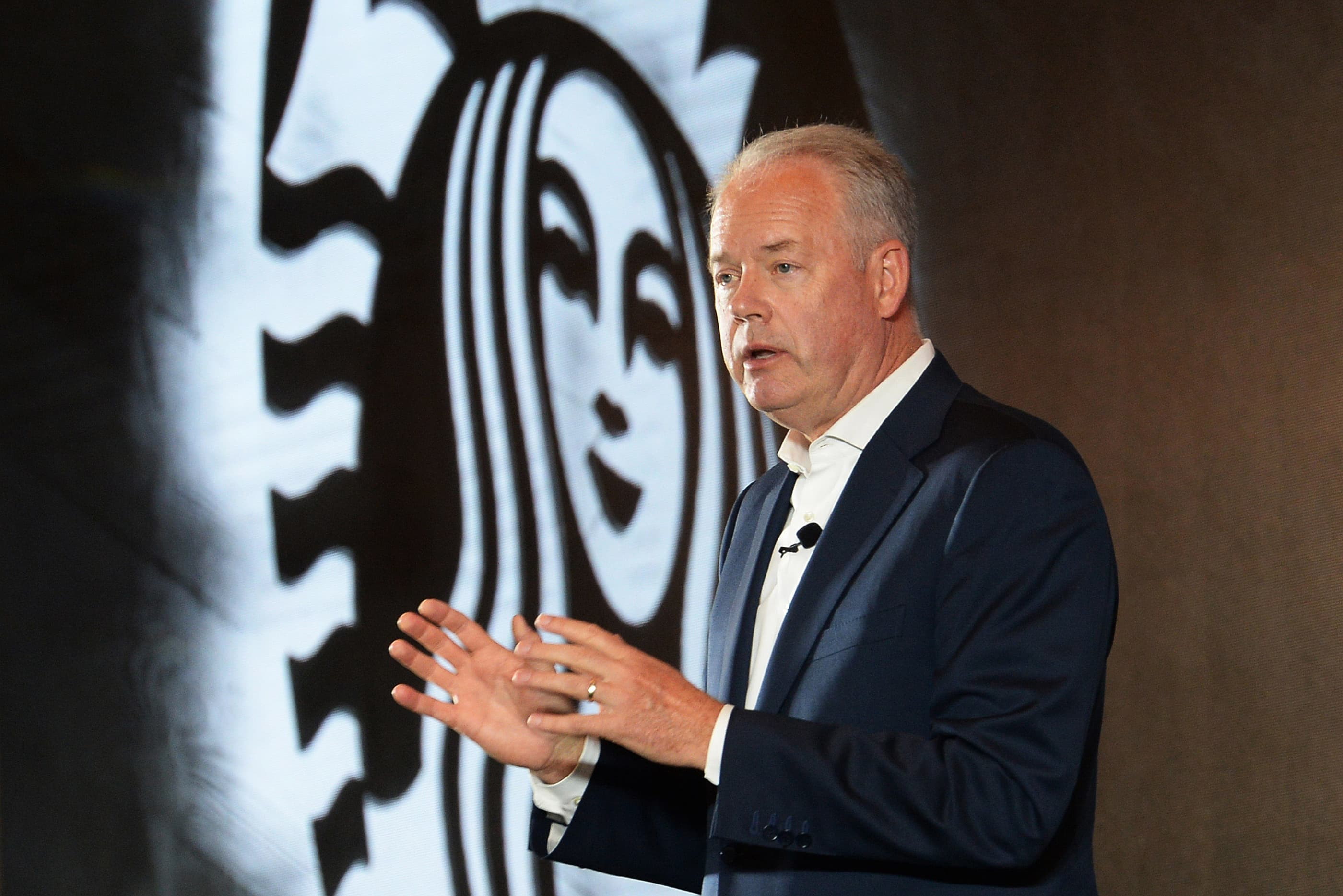 Starbucks CEO says US experiencing 'similar' coronavirus path to China